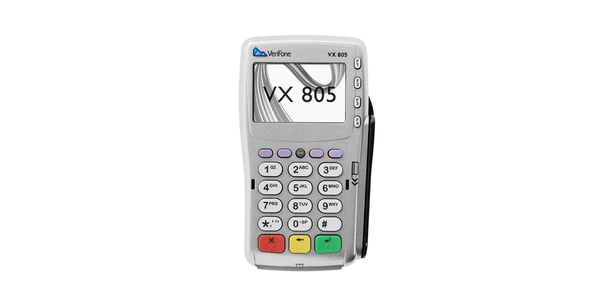 End of Support for Verifone VX805 and Worldpay